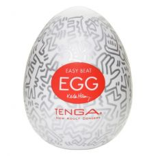 Мастурбатор яйцо Tenga Keith Haring ..