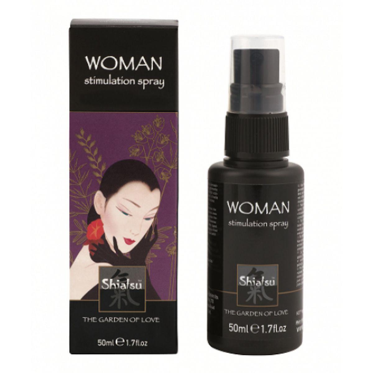 Стимулирующий спрей для женщин 50 мл Shiatsu