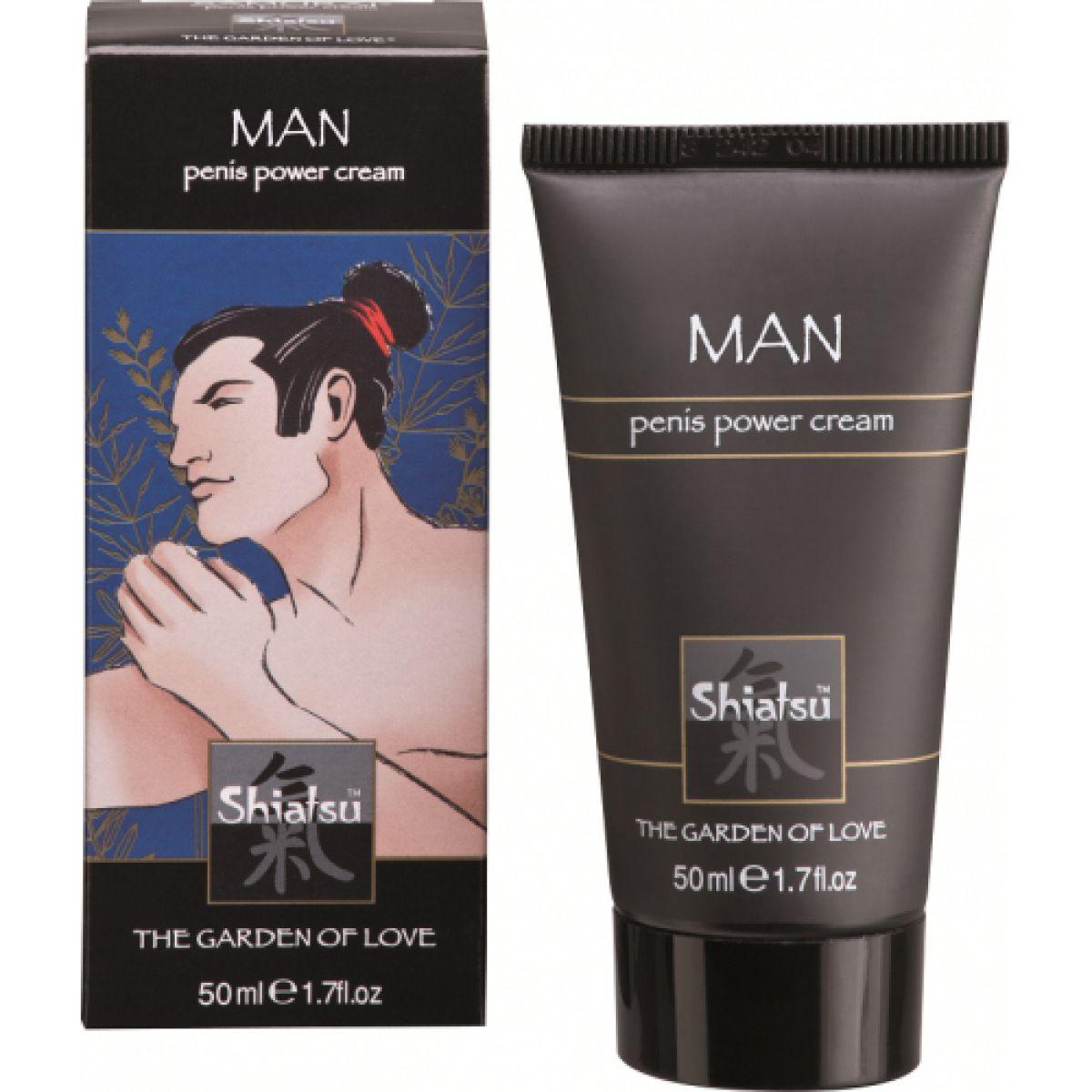 Стимулирующий крем для мужчин Самурай 50 мл Shiatsu