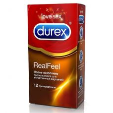 Презервативы Durex №12 Real Feel с э..