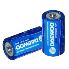Батарейки R14 Daewoo Heavy Duty формат С 2 шт..