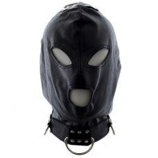 Бондажный шлем с кольцами..