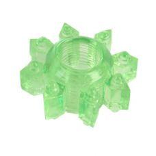 Тянущееся зеленое кольцо для эрекции..