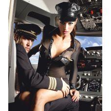 Сексуальный женский костюм пилота S/..