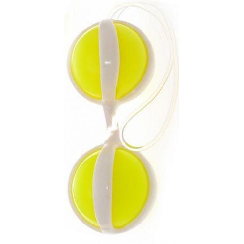 Вагинальные шарики Be Mine Balls желтые