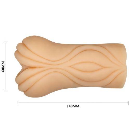 Мастурбатор-вагина с необычным дизайном Crazy Bull Louise