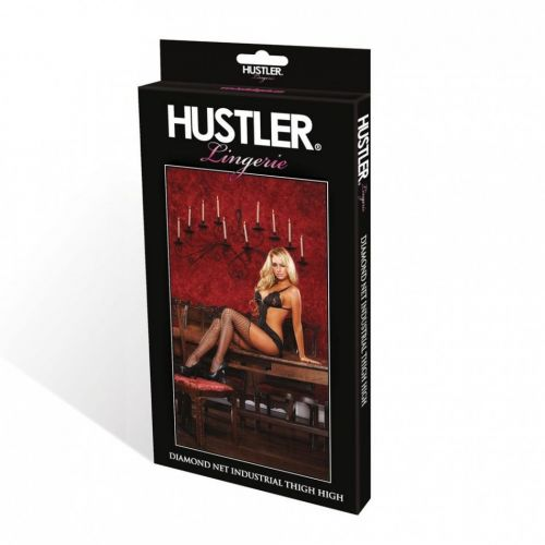 Супер-секси чулки в сетку