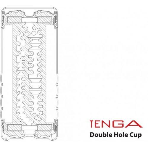 Мастурбатор Tenga Double Hole