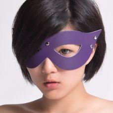 БДСМ маска фиолетовая..