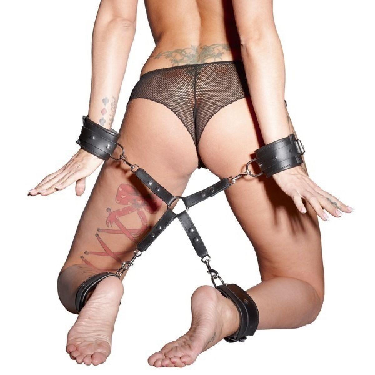 Ремни. Крест для наручников с карабином (Без наручников)