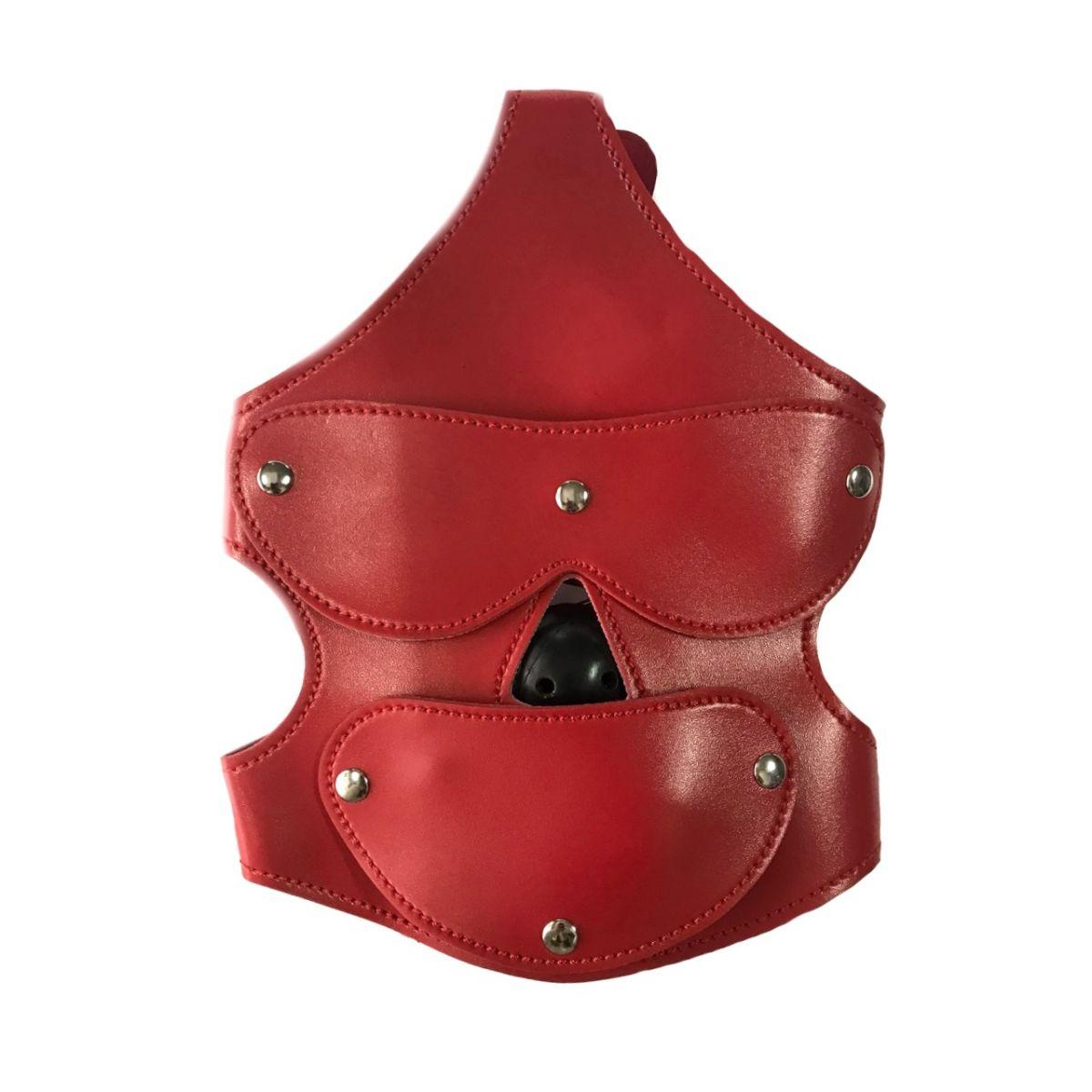 Маска с кляпом Extreme Gag Blinder Red