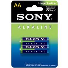 Батарейки Sony Alkaline пальчиковые AA 2 шт..