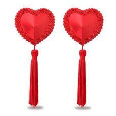 Пэстисы для груди d Heart Tassels Ni..