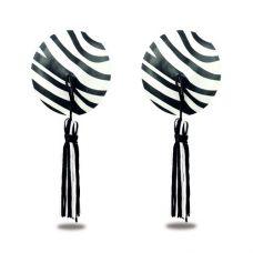 Пэстисы для груди Reusable Zebra Rou..