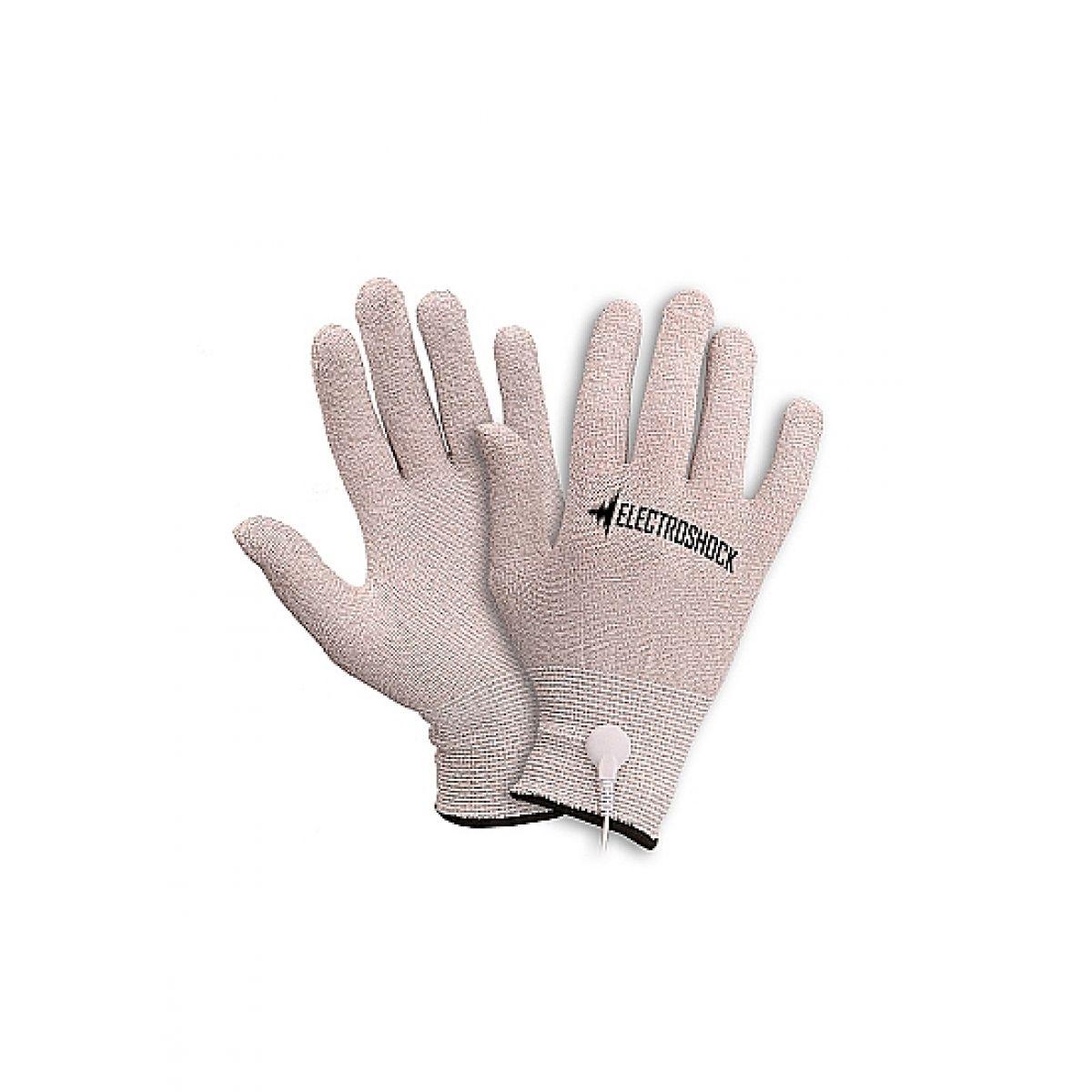 Перчатки для электромассажа подходят E-stim Grey