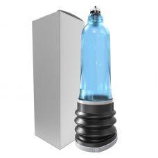 Гидропомпа для пениса K30 голубая