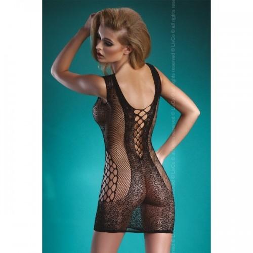 Полупрозрачное платье в сетку Zahara S/L