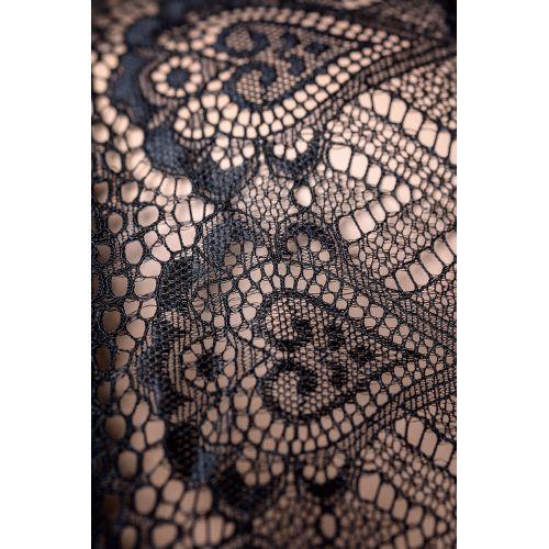 Платье со стразами Candy Girl Estelle и стринги, чёрные, OS